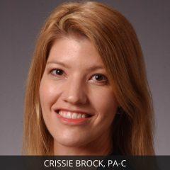 Crissie Brock, PA-C